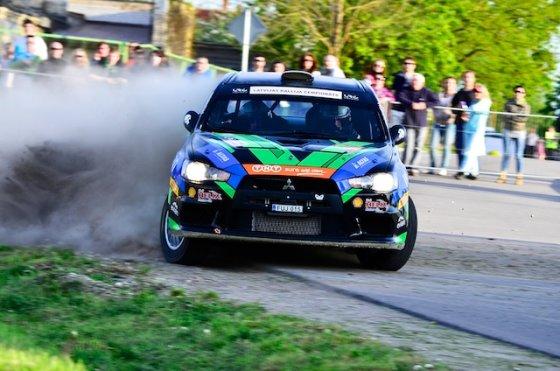 """""""Wellman Rally Team"""" nuotr./M.Samuitis ir R.Šaučikovas"""