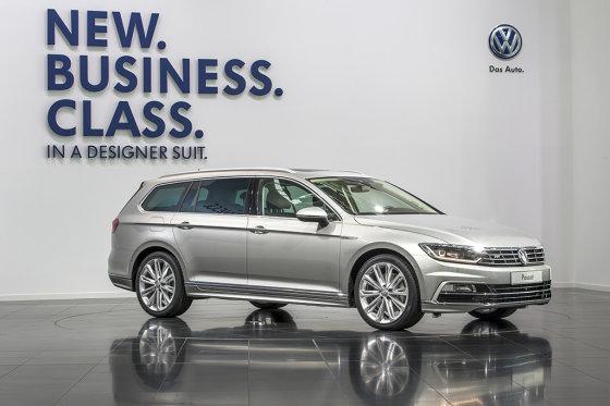 """""""Volkswagen"""" nuotr./Naujasis """"VW Passat"""""""
