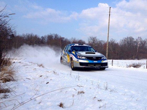 """""""Subaru Poland Rally Team"""" nuotr./Pasiruošimas ERC etapui Latvijoje"""