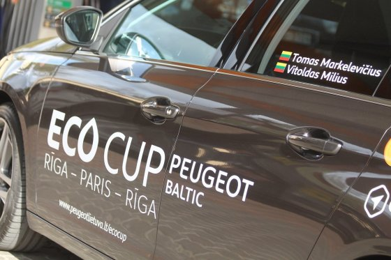 "Tomo Markelevičiaus nuotr./""Peugeot EcoCup"""