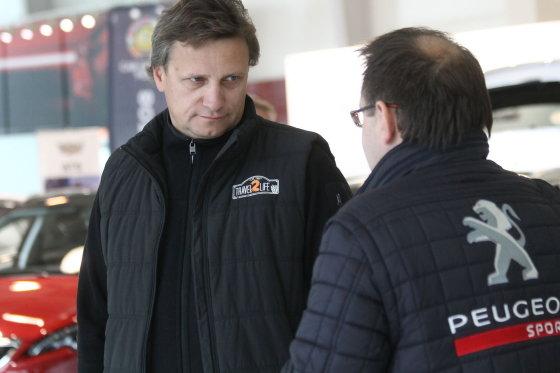"""Tomo Markelevičiaus nuotr./""""Peugeot EcoCup"""" startas Rygoje"""