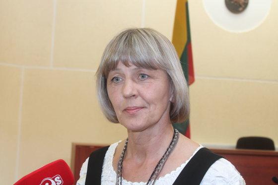 Tomo Markelevičiaus nuotr./Prokurorė Gražina Petrulytė