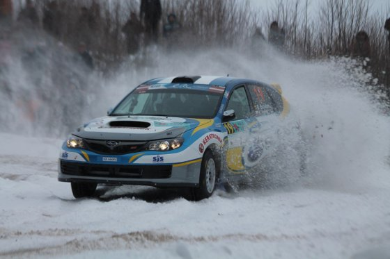 """Tomo Markelevičiaus nuotr./""""Rally Liepaja 2015"""" aštuntas greičio ruožas"""