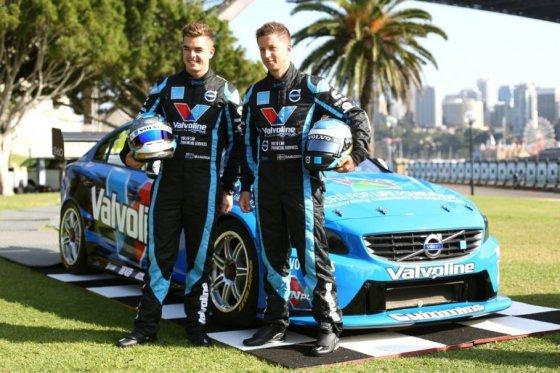 """""""Volvo Polestar Racing""""  nuotr/""""Volvo Polestar Racing"""" komandos vairuotojai ir automobilis"""
