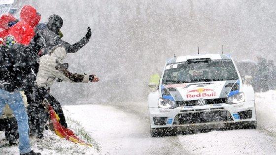 """""""VW Motorsport"""" nuotr./Žiemos ralio aistruoliai"""