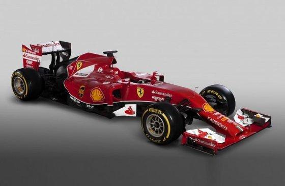 """Ferrari"" nuotr./""Ferrari F14 T"" bolidas"