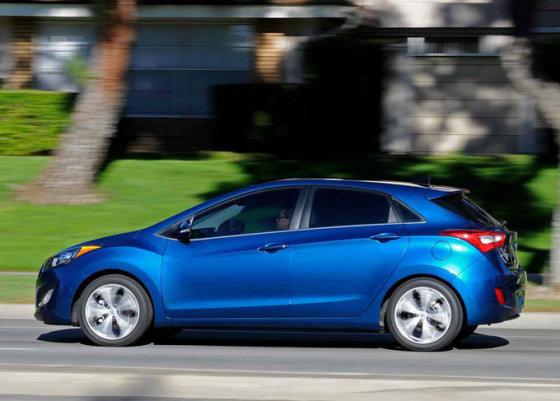 """Hyundai"" nuotr./""Hyundai Elantra GT"""