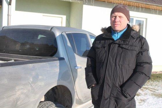 """Tomo Markelevičiaus nuotr./Medžiotojų klubo """"Atžalynas"""" pirmininkas Valerijus Afanasjevas"""