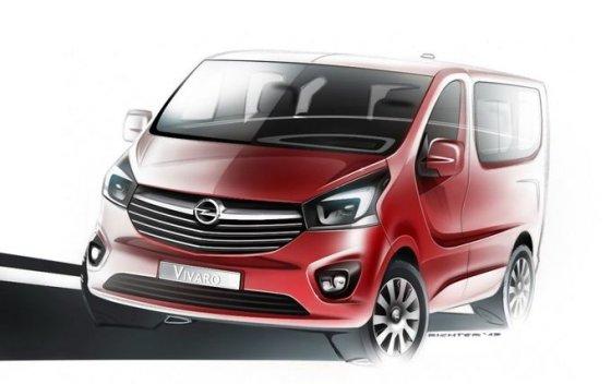 """""""Opel"""" nuotr./""""Opel Vivaro"""""""