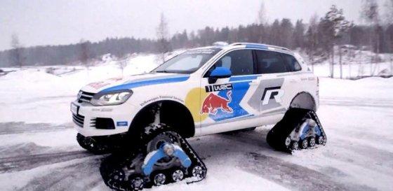 """Stop kadras/""""Volkswagen Snowareg"""""""
