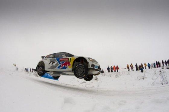 "AFP/""Scanpix"" nuotr./WRC antras etapas Švedijoje"