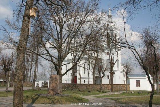 Miestai.net Romo nuotr./Betygalos bažnyčia