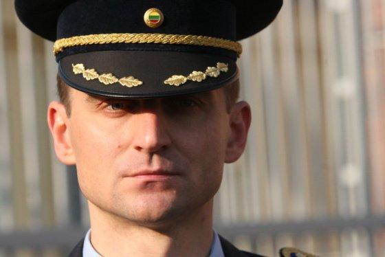 Alvydo Januševičiaus nuotr./Artūras Norkevičius. Prezidentė Dalia Grybauskaitė Šiaulių tardymo izoliatoriuje