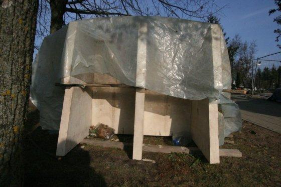 Alvydo Januševičiaus nuotr./Šiauliuose vėluoja kolumbariumo statyba