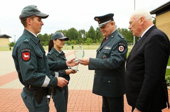 Policijos departamento nuotr./Geriausi viešosios policijos pareigūnai 2014 m.