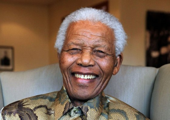 "AFP/""Scanpix"" nuotr./Nelsonas Mandela (2010 m.)"
