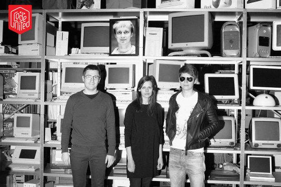 """codeunited nuotr./""""CodeUnited"""" komanda – Maksimas Sorokinas, Marius Žostautas (nuotrauka viršuje), Indrė Rusytė ir Kostas Rutkauskas"""