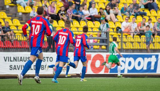 "Karolinos Pansevič nuotr./Lietuvos futbolo A lyga: ""Žalgiris"" – ""Dainava"""