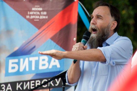 """""""Scanpix""""/""""RIA Novosti"""" nuotr./Rusijos protų inžinierius Aleksandras Duginas."""