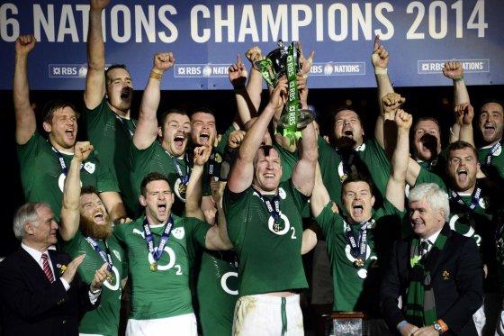 """AFP/""""Scanpix"""" nuotr./Airijos rinktinės triumfas"""