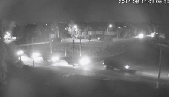informator.lg.ua nuotr./Teroristų sunkvežimiai Luhanske