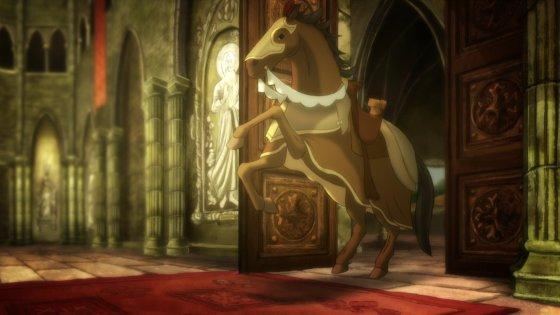 """Xaviero Dujardeno nuotr./Akimirka iš filmo """"Aukso žirgas"""""""