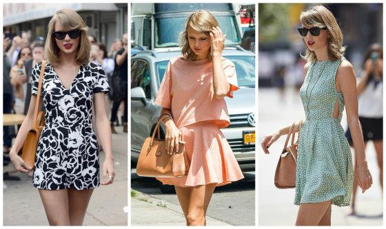 AOP nuotr./Išeidama iš sporto klubo Taylor Swift visada atrodo tarsi madų žurnalo fotosesijoje
