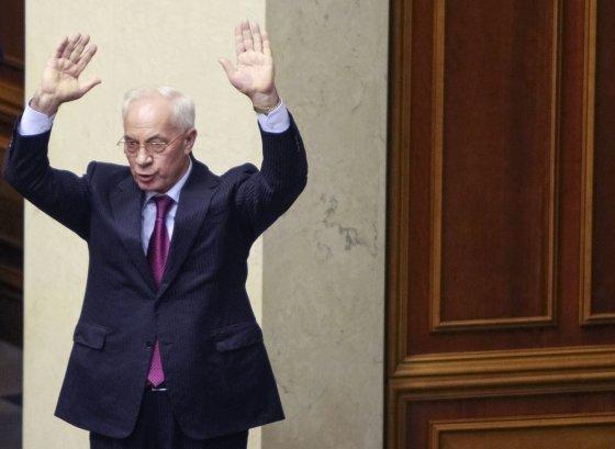 """Reuters""/""Scanpix"" nuotr./Buvęs Ukrainos ministras pirmininkas Mykola Azarovas"