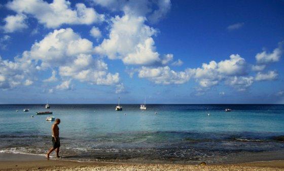 J.Jonušo nuotr./Skaidrus ir žydras Karibų jūros vanduo
