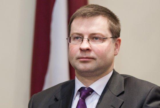 BFL/Tomo Lukšio nuotr./Latvijos premjeras Valdis Dombrovskis