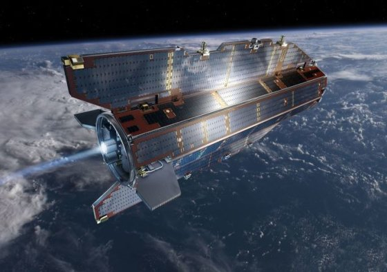 Palydovas GOCE (Gravity field and steady-state Ocean Circulation Explorer)