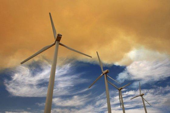 """""""Reuters""""/""""Scanpix"""" nuotr./Vėjo jėgainės"""