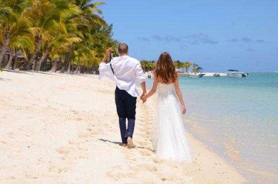 Asmeninio archyvo nuotr. /Vestuvės Mauricijaus saloje