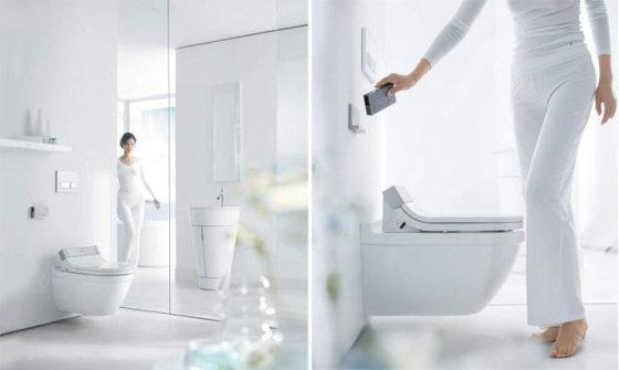 """""""Duravit SensoWash"""" multifunkcinis unitazo dangtis – naujas higienos standartas vonios kambariui"""