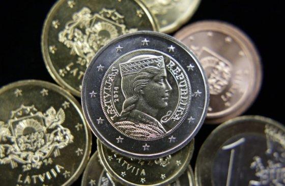 Latvijos euro monetos