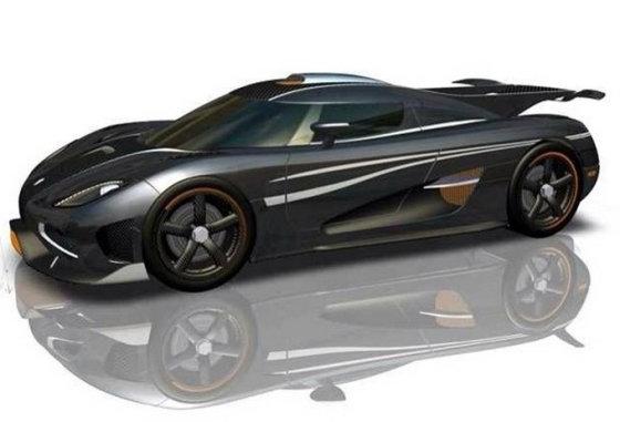 """""""Koenigsegg"""" nuotr./""""Koenigsegg One:1"""""""