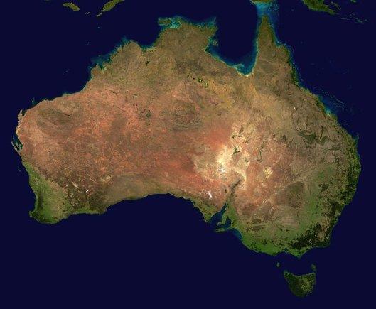 Wikimedia.org nuotr./Nežinomas Australijos veidas: nuo nuodingiausios gyvatės iki tiesiausio pasaulyje kelio
