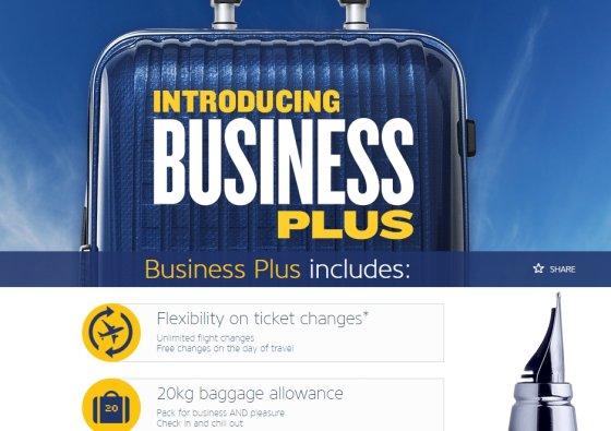 """""""Ryanair"""" verslo klasė"""