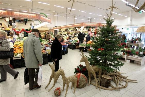 Eriko Ovčarenko / 15min nuotr./Kalėdinė prekyba