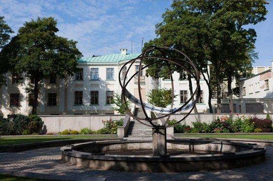 Laikrodžių muziejaus nuotr./Laikrodžių muziejaus kiemas
