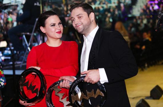 Luko Balandžio/Žmonės.lt nuotr./Justė Arlauskaitė-Jazzu ir Leonas Somovas