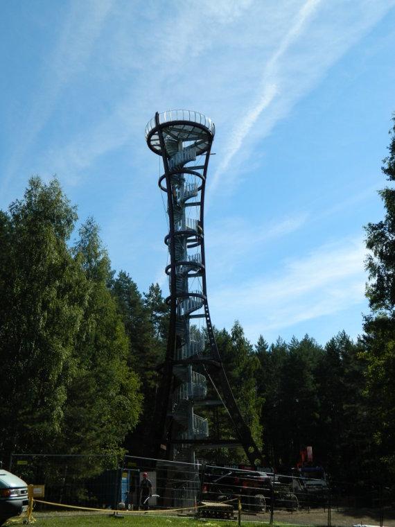 VšĮ  Molėtų turizmo ir verslo informacijos centro nuotr./Labanoro regioniniame parke iškils apžvalgos bokštas