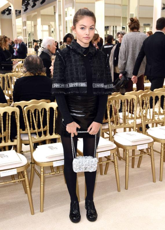 "Vida Press nuotr./Thylane Blondeau per ""Chanel"" kolekcijos pristatymą"