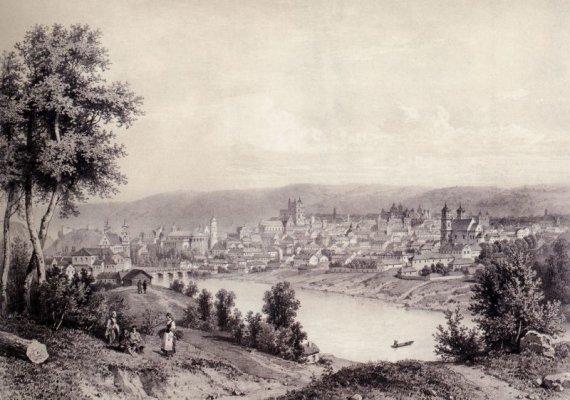 Vilniaus miesto vaizdas ir šiaurės vakarų pusės