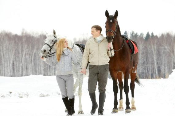 Partnerio nuotr./Jodinėjimas žirgais dviem