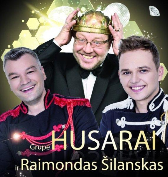 """Koncerto plakatas/Raimondas Šilanskas ir grupė """"Husarai"""""""