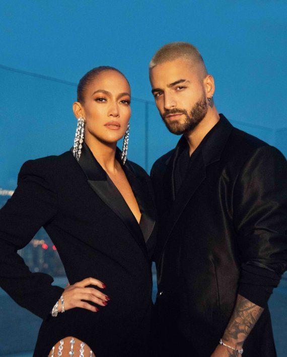 Sony Music nuotr./Jennifer Lopez ir Maluma