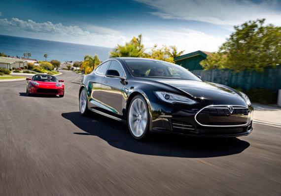 """""""Tesla"""" nuotr./""""Tesla Model S"""""""