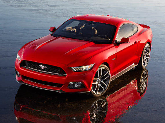 """""""Ford"""" nuotr. /""""Ford Mustang GT"""""""