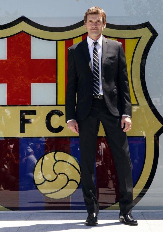 """Reuters""/""Scanpix"" nuotr./Naujasis ""Barcelona"" treneris – Tito Vilanova"